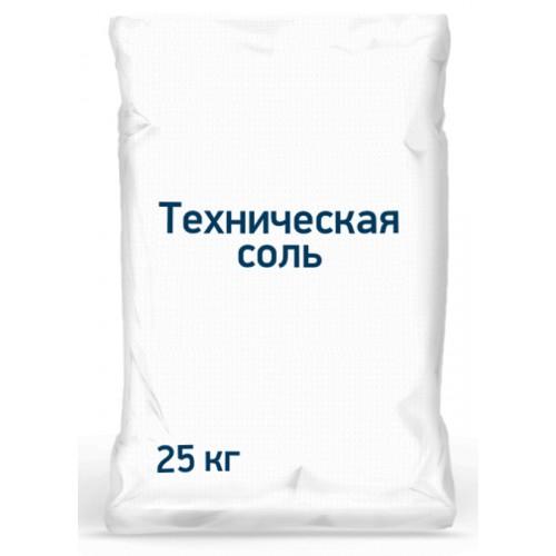 Техническая соль (мешок) 25кг (Россия)